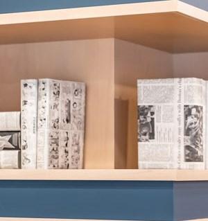 The Loden Apartments Community Bookshelves