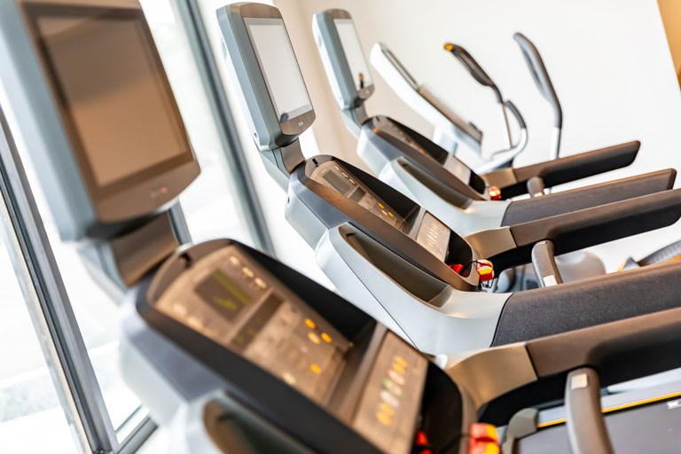The Loden Apartments Lifestyle - Fitness Center Cardio Equipment