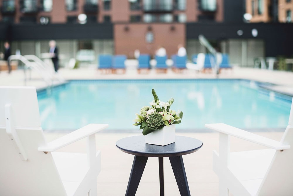 The Loden Apartments Lifestyle - Pool Deck