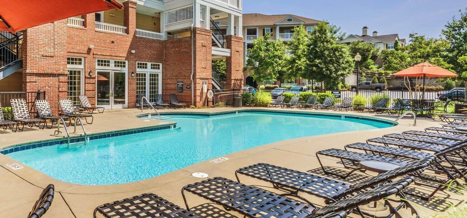 Sparkling Salt Water Pool at Rose Heights Apartments, Raleigh, 27613
