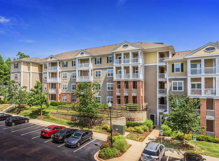 Apartment exterior at Rose Heights  Verde Trail, North Carolina