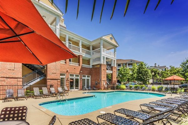 Sparkling pool at Rose Heights  Apartments, Raleigh, NC