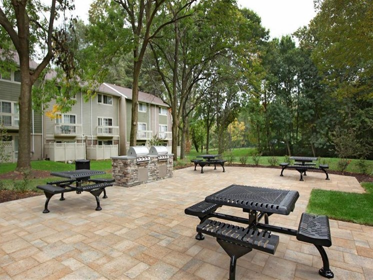 Outdoor Grilling Pavilion at The Brook at Columbia, Maryland