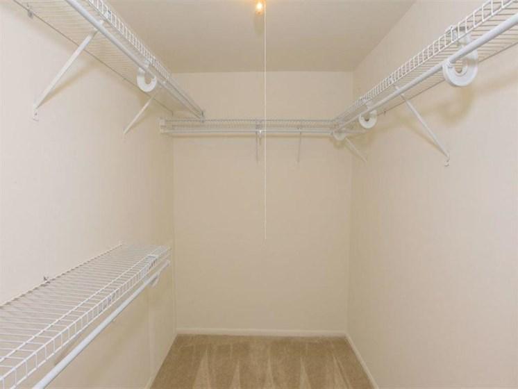 Large Closets at The Brook at Columbia, Columbia, MD 21044