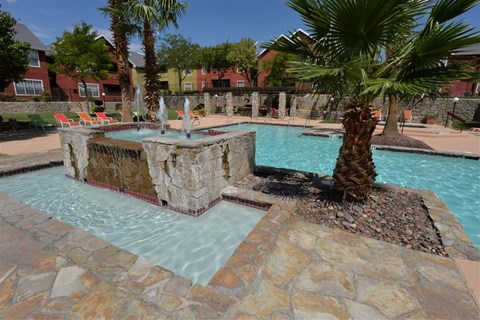 Pool at Ryan's Crossing Apartments, 535 S. Mesa Hills Dr. El Paso, TX 79912