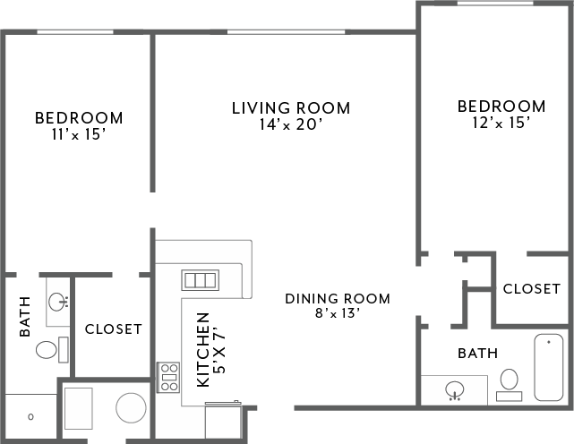 Manor_2Bed2Bath_1150 Floor Plan 6
