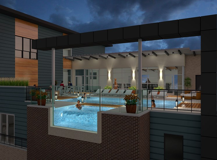 Pool Deck rendering