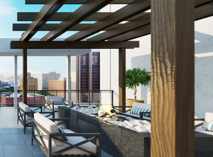 Sky Lounge at SOLL Apartments
