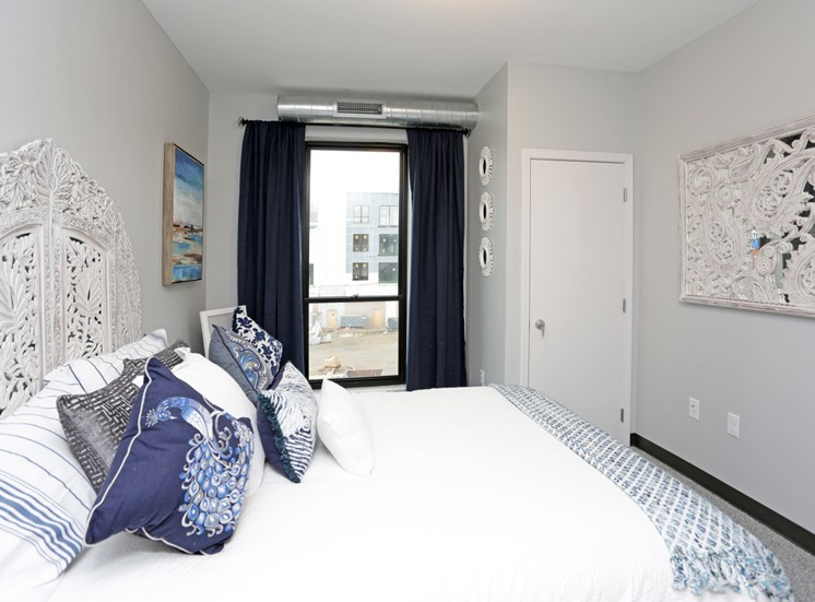 Bedroom in Soll Apartments Des Moines IA