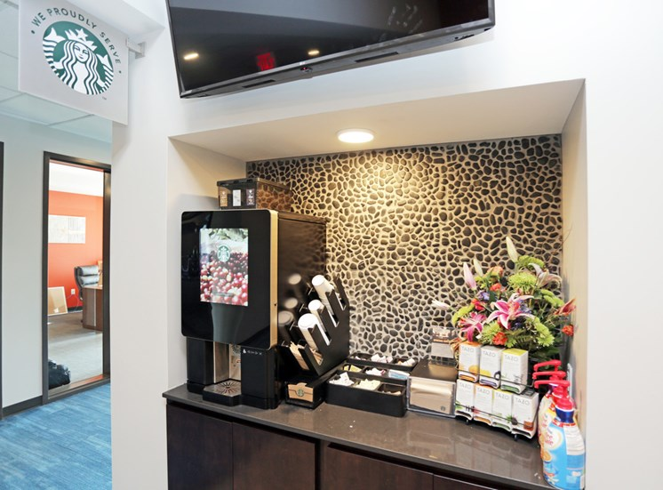Starbucks Coffee Bar in Soll Apartments Des Moines IA