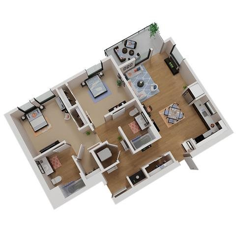 CA_SantaRosa_Annadel_Plan_B3_Floor_Plan_2Bedroom_2Bathroom
