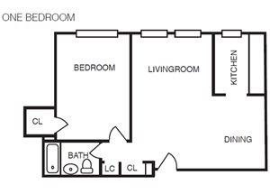 A1 (One Bedroom)