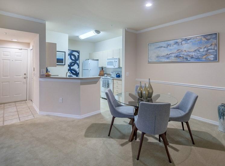Versant Place Apartments open floor plans