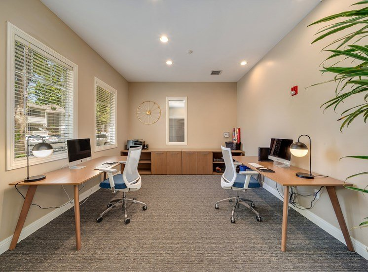 Preserve at Blue Ravine - Business center and conference room