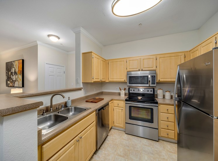 Preserve at Blue Ravine - Spacious kitchens with stainless steel appliances