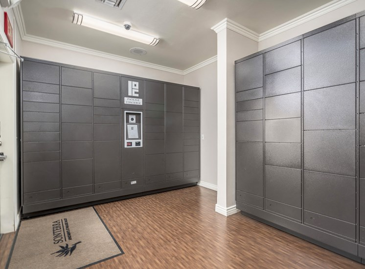 Sonterra Apartments at Paradise Valley - Electronic parcel locker system