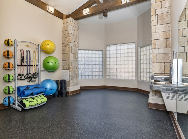 Grand Centennial Apartments fully-equipped fitness center