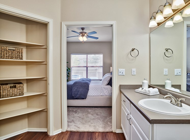 Grand Centennial - Linen closet in select units