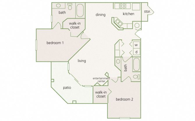 Park Del Mar - B3 - Degas - 2 bedroom - 2 bathroom