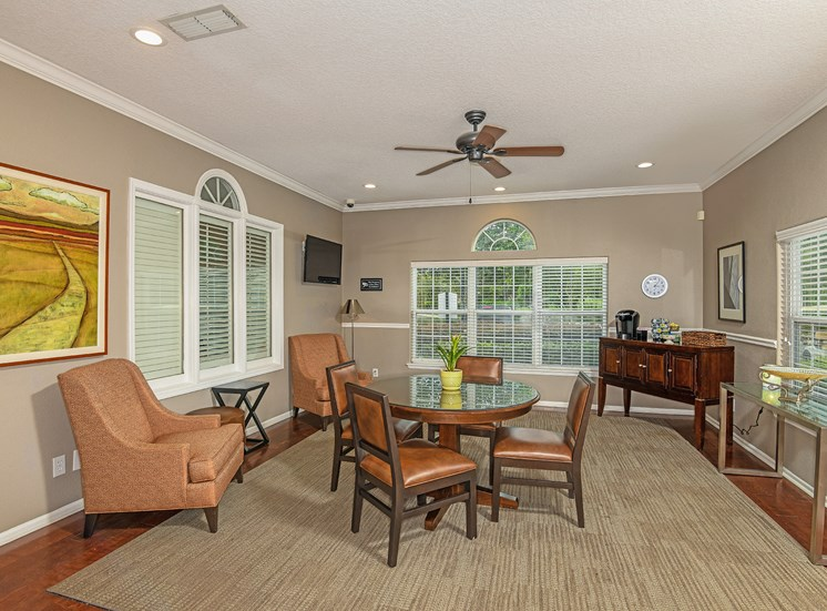 The Colony at Deerwood Apartments clubhouse