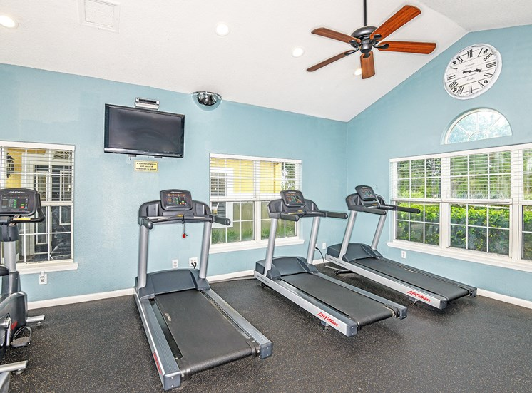 The Colony at Deerwood Apartments fitness center