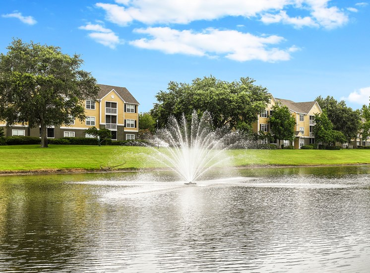 The Colony at Deerwood Apartments lake views