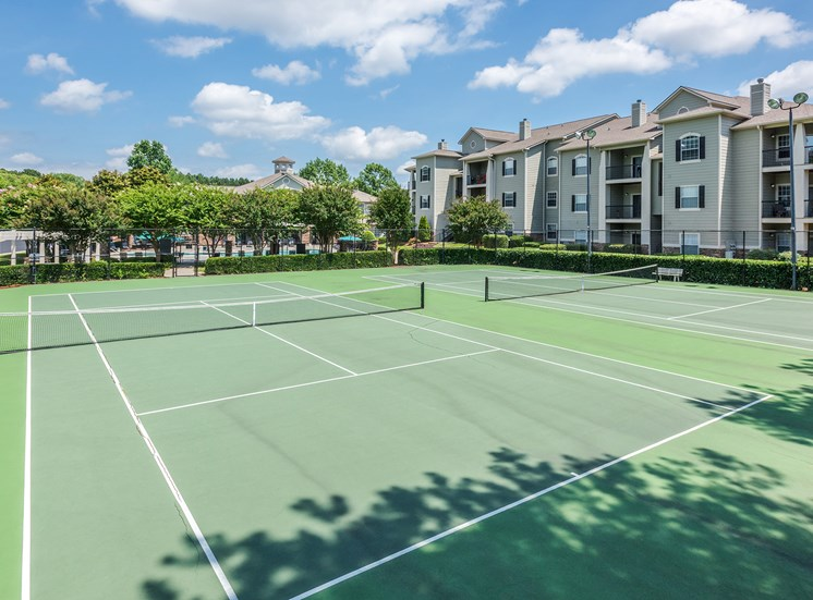 Cheswyck at Ballantyne apartments tennis court
