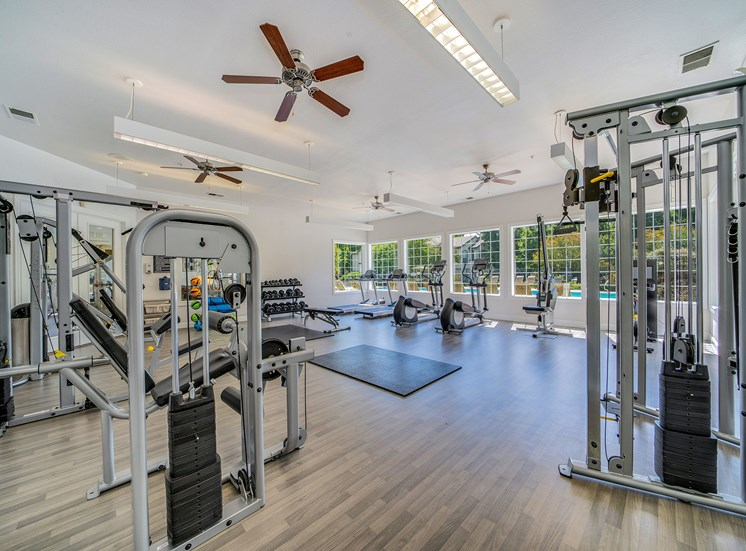 The Commons apartments fitness center