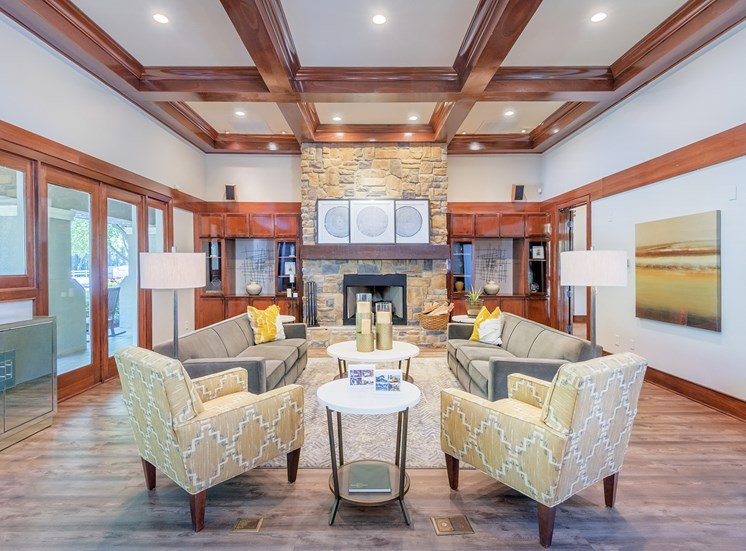 The Estates at River Pointe - Resident social area