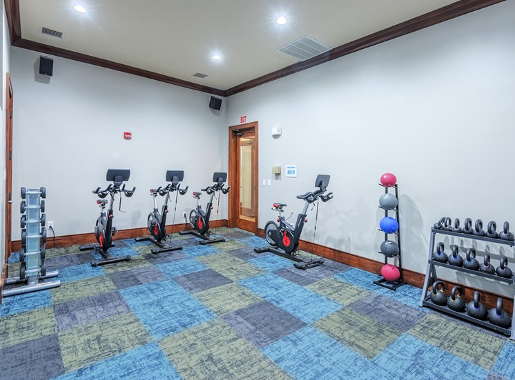 The Estates at River Pointe - Yoga/bike studio