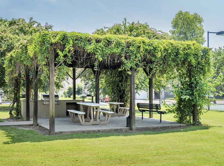 The Estates at River Pointe - Picnic areas with grilling stations