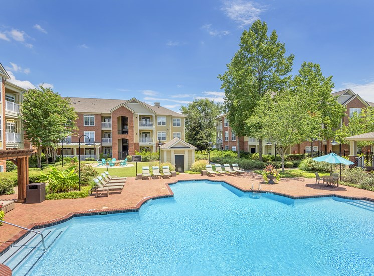 Belle Harbour Apartments - Poolside sun deck