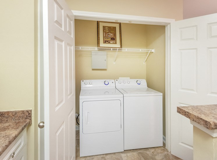 Belle Harbour Apartments - Washer and dryer in every apartment