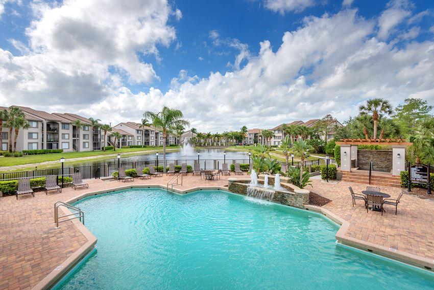 La Costa Apartments resort-style pool