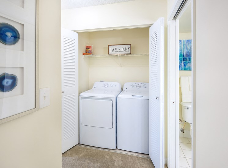 La Costa Apartments washer and dryer in every apartment home