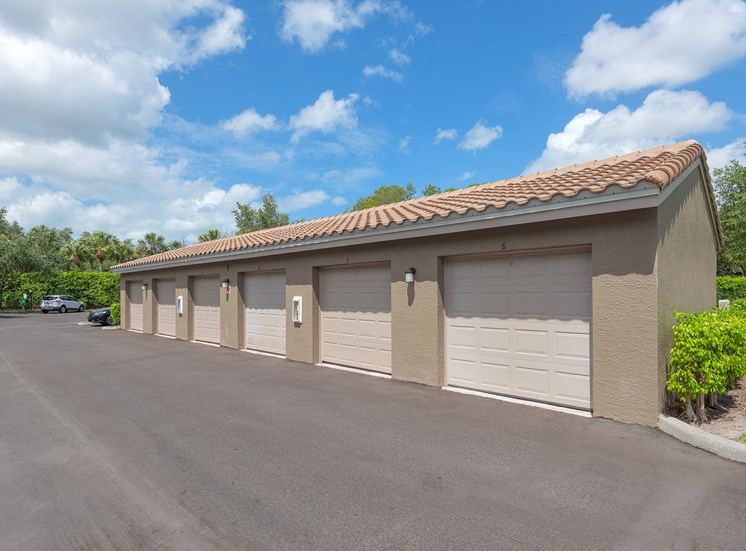 La Costa Apartments garages available