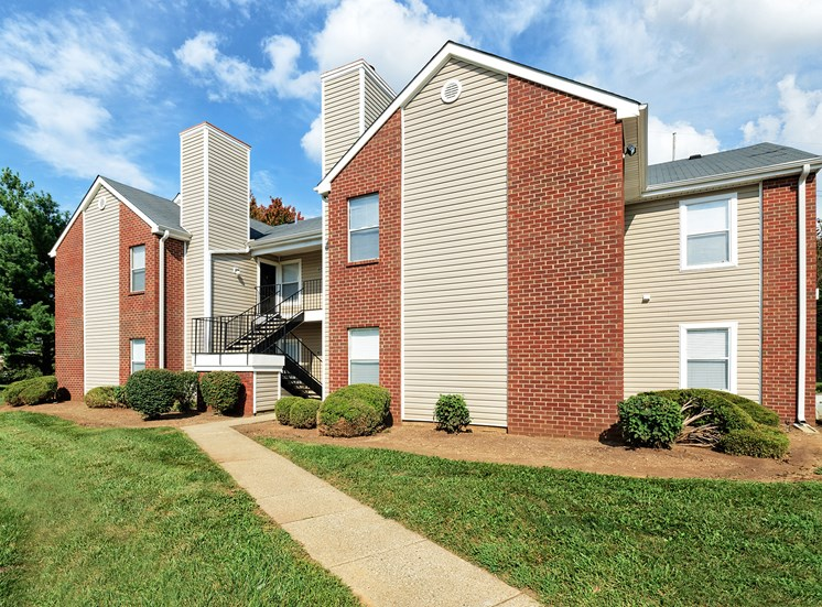 East Chase Apartments - Exterior building