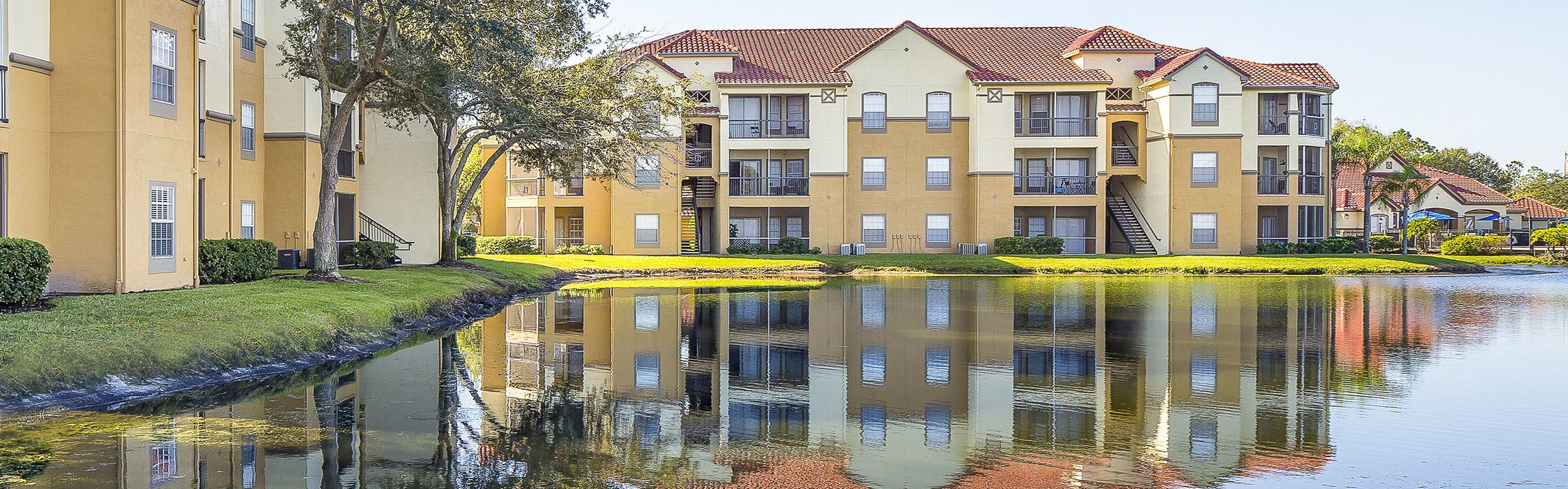 Andover Place at Cross Creek Apartments lake views