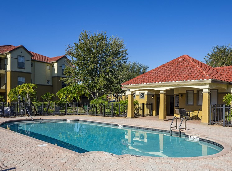 Andover at Cross Creek Apartments second resort-style pool