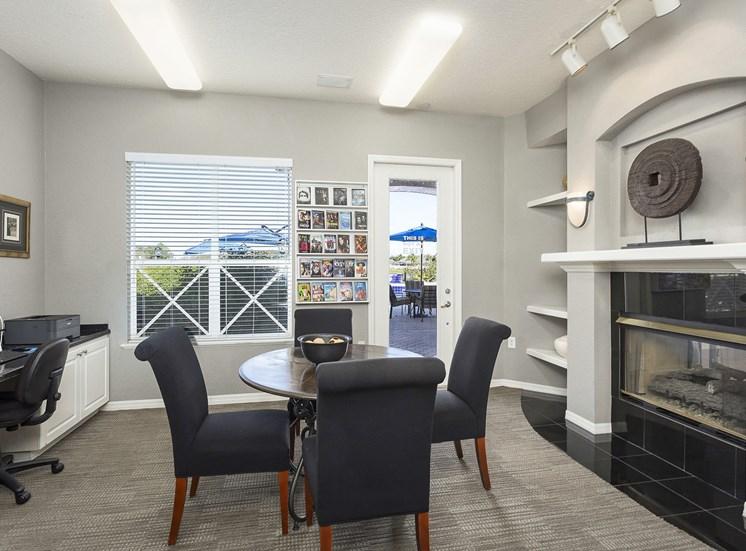 Andover at Cross Creek Apartments executive business center