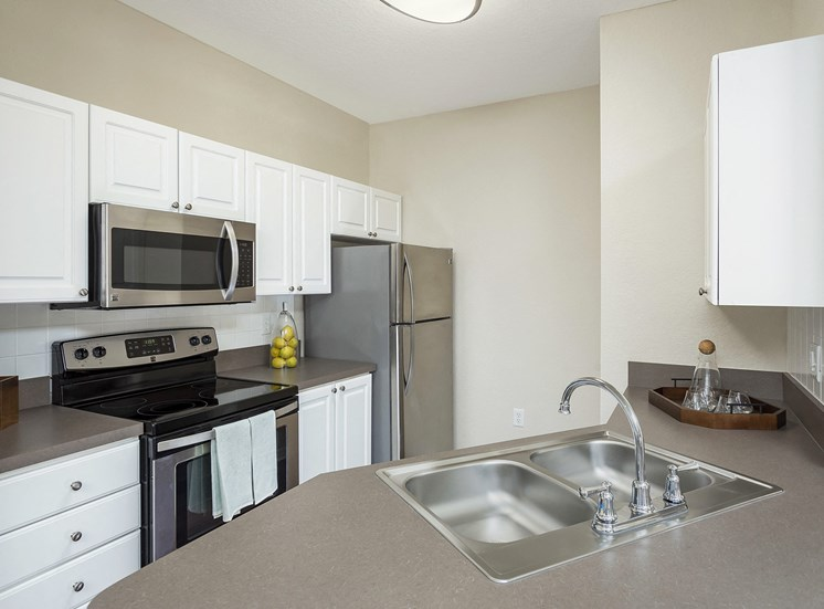 Andover at Cross Creek Apartments stainless steel appliances