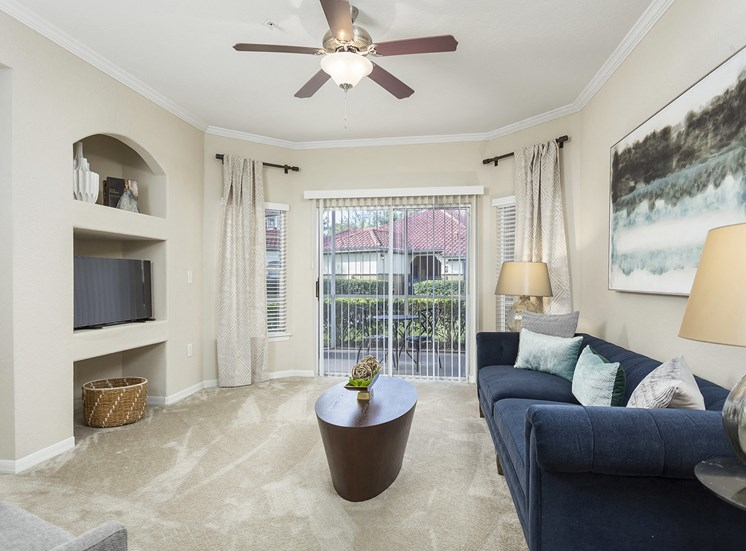 Andover Place at Cross Creek Apartments - Staged living room