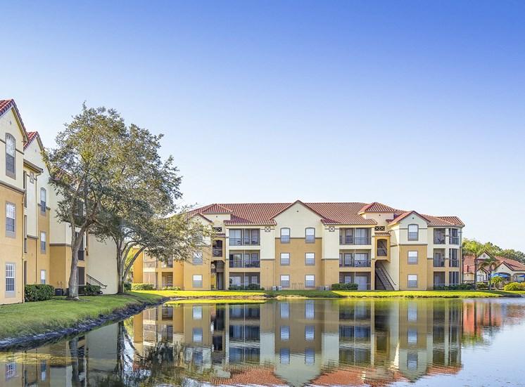 Andover at Cross Creek Apartments lake views