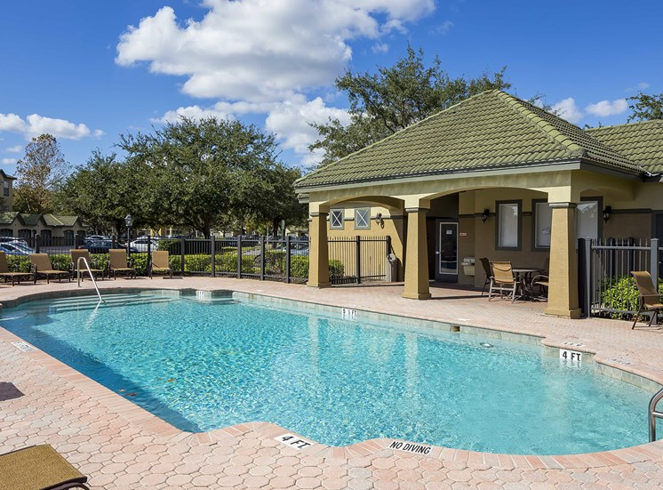 Addison Park at Cross Creek Apartments - Second resort-style pool