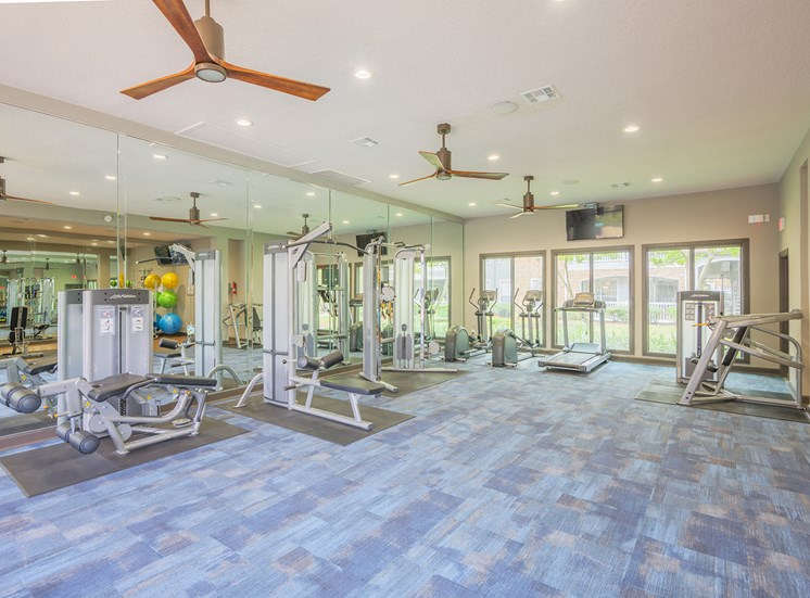 Lodge at Cypresswood Apartments - Fitness center