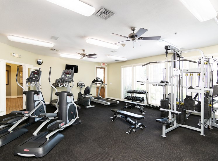 Barton Vineyard Apartments 24-hour fitness center