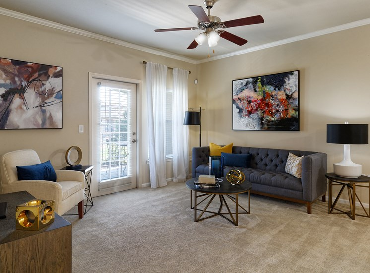 Cordillera Ranch Apartments - Staged living room