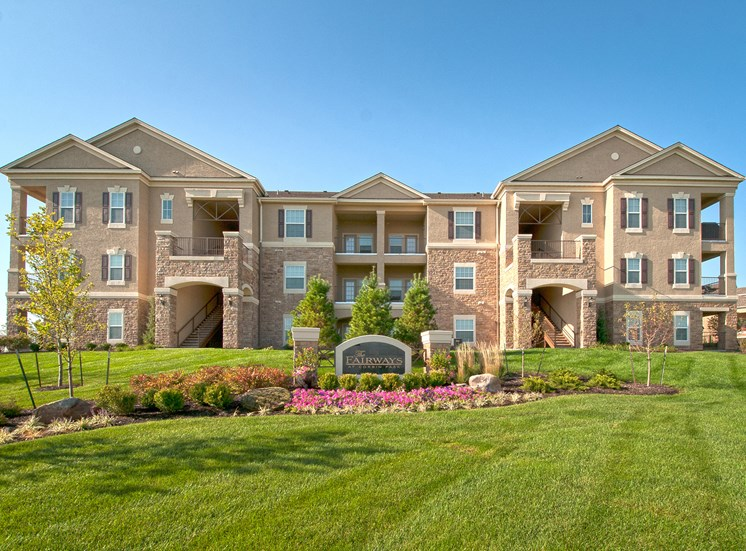 The Fairways at Corbin Park extra large patio or balcony in each apartment home