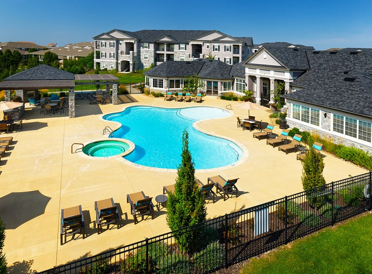 Corbin Greens Apartments - Resort-style saltwater heated pool with spa