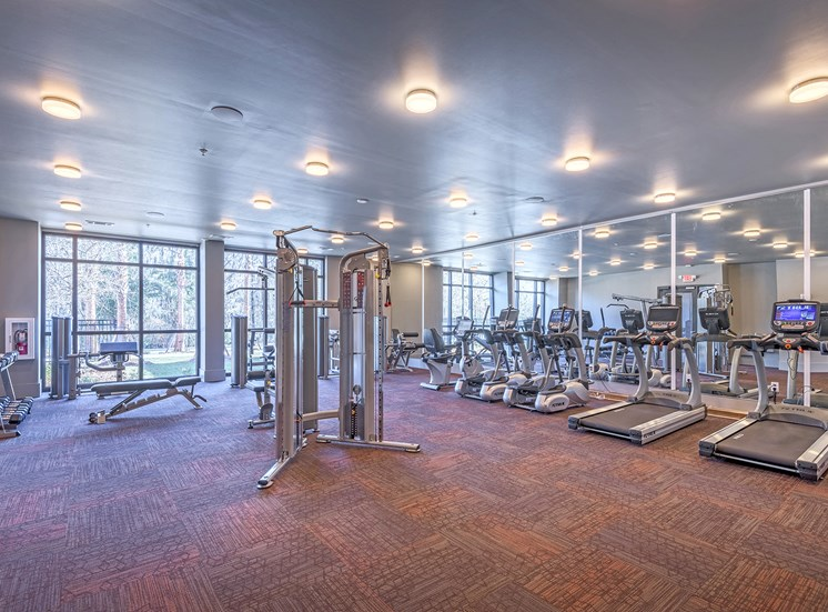 Centre Pointe Apartments 24-hour fitness center